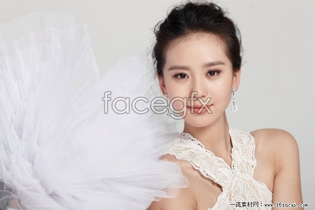 Beauty star pictures of Liu Shi's poems