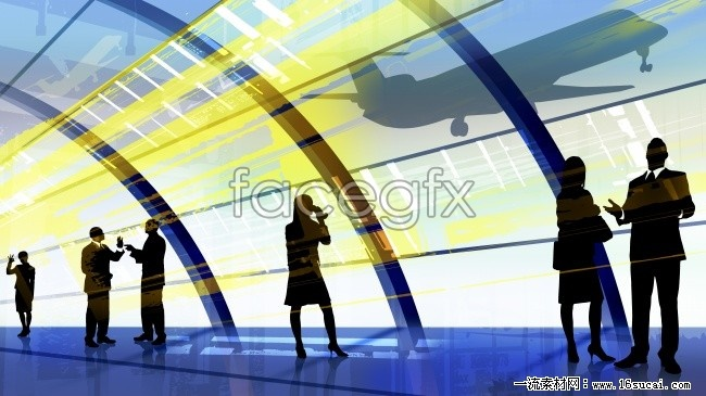 Business workplace people silhouette high resolution images