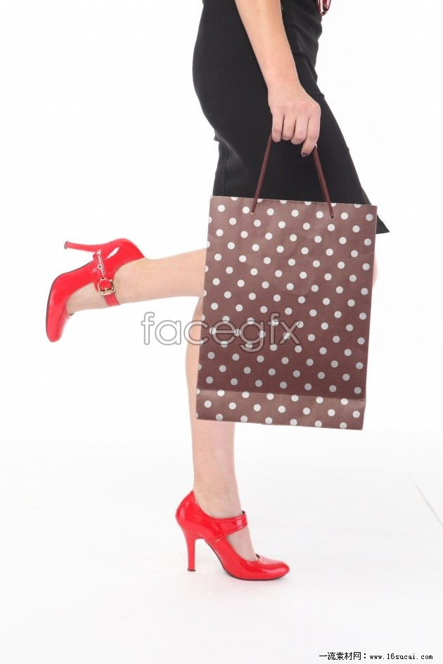 Fashion shopping girl illustration high resolution images