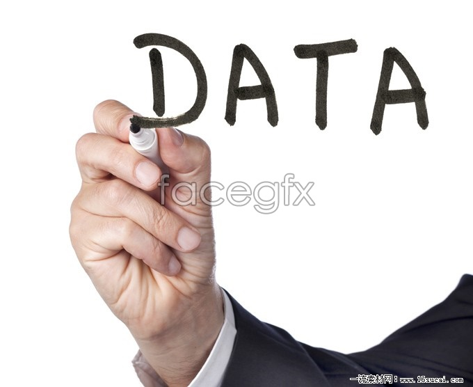 Handwritten DATA HD picture