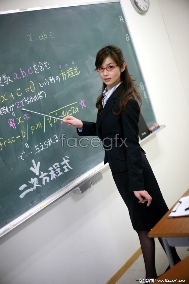 Stockings HD big beautiful teacher