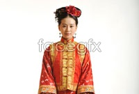 HD Scarlet Liu Shi poems in traditional costume pictures
