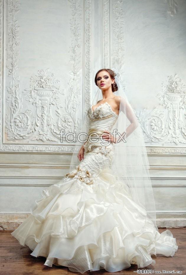 HD Photo wedding gown II