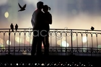 Happy couple back background high definition pictures
