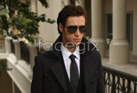Sunglasses man HD picture