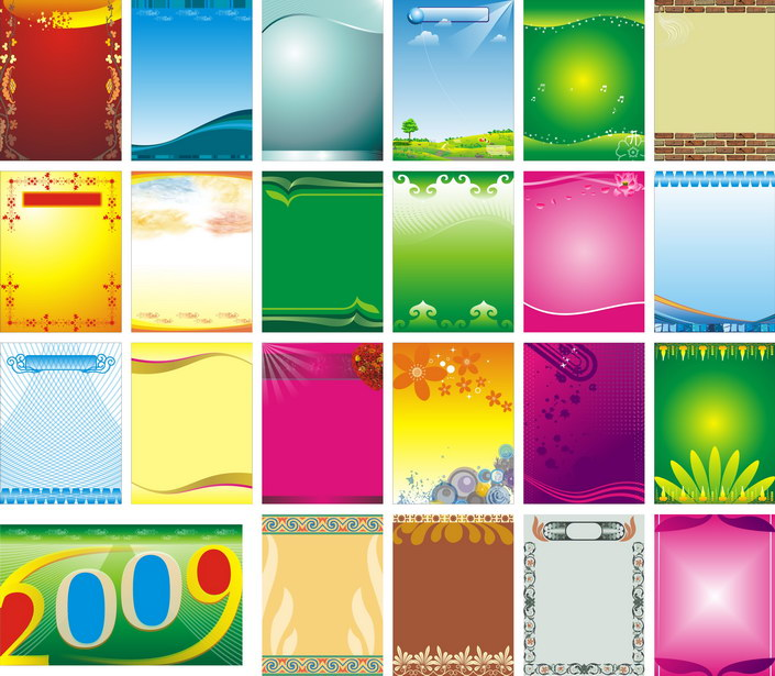 Exhibition background vector