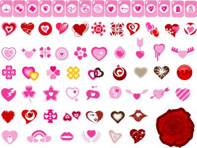 Cartoon icon heart