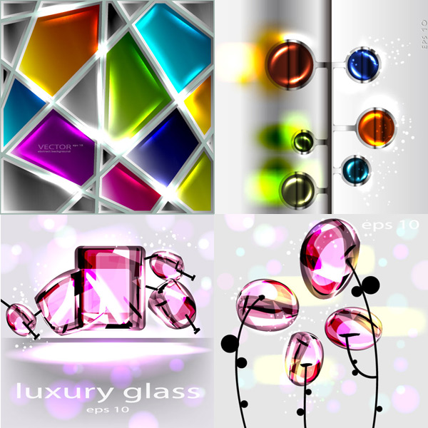 Creative glass texture