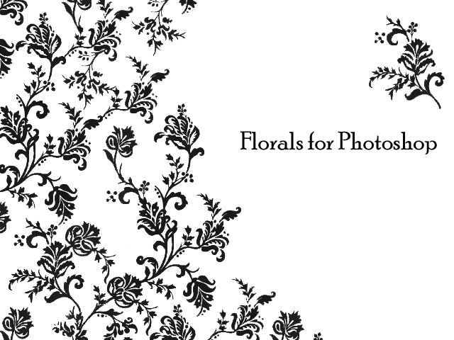 Florals Brush for PS