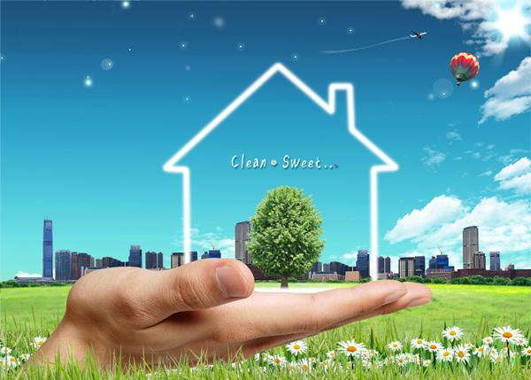 Green Home PSD