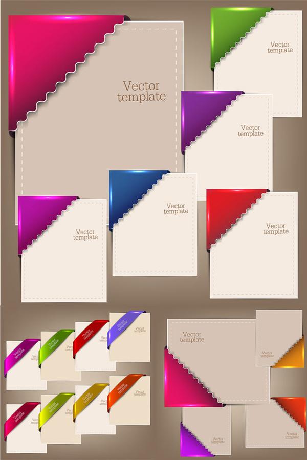 Pages corner elements