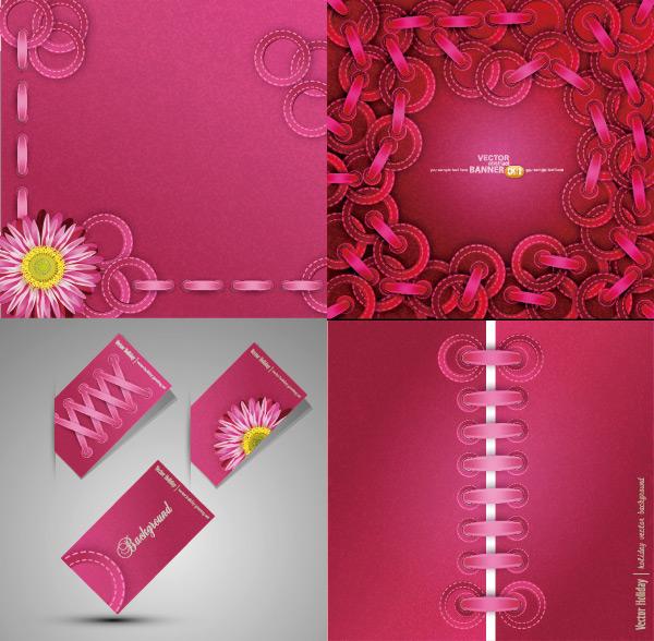 Pink design element