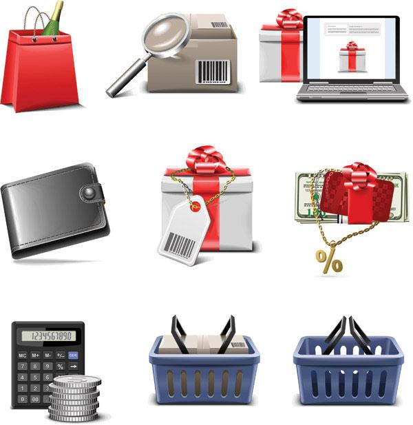 Shopping icon series