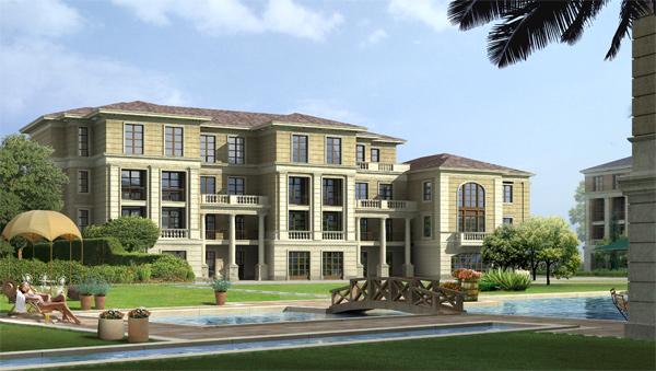 Villa architecture PSD