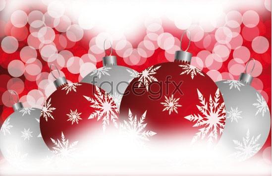 Christmas ball 06 Vector