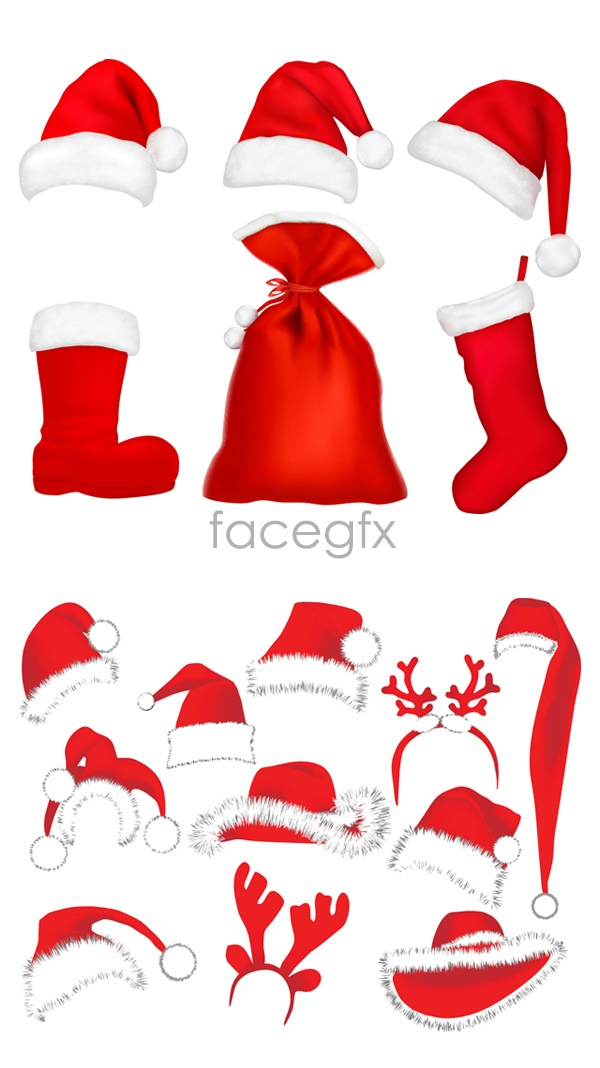 Christmas costumes Vector