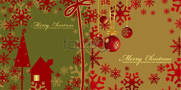 Red Christmas Vector