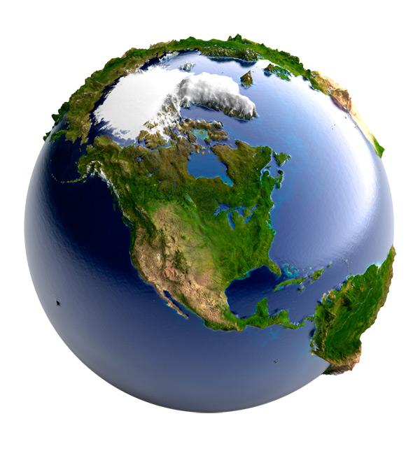 континенты материки земли исходник фотошоп вида