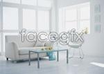 Modern living room PSD