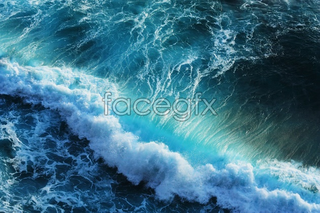 Download HD ocean waves pictures