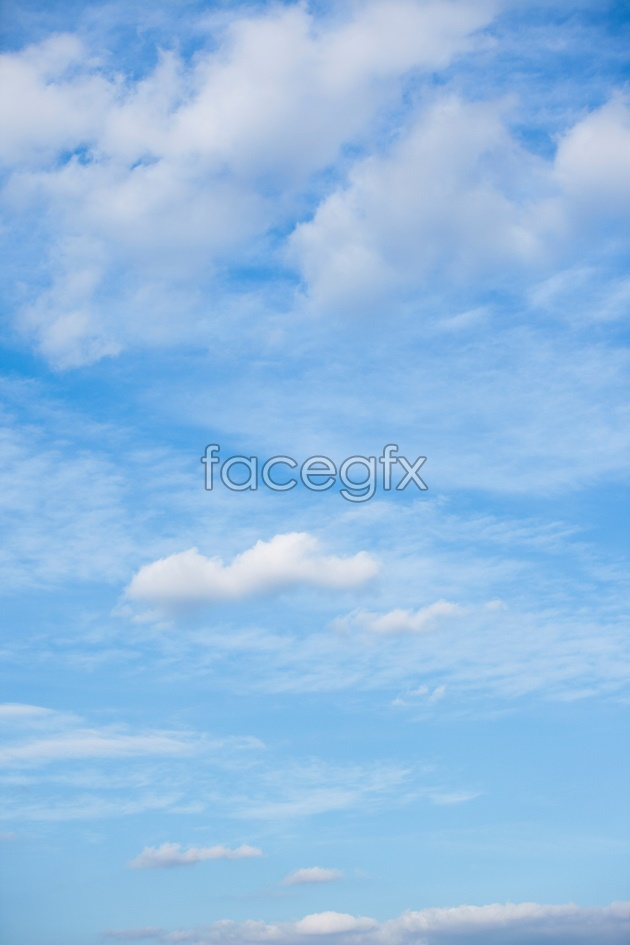 HD blue sky picture