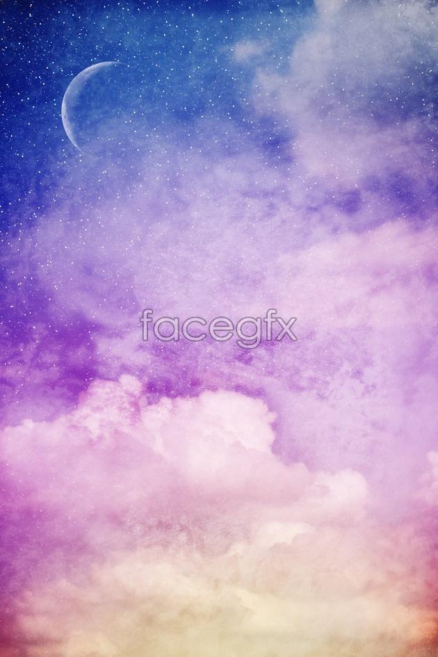 HD cloud picture