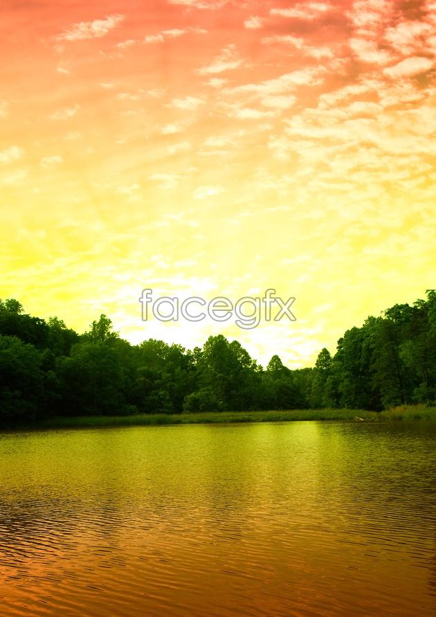 Jiangnan landscape picture HD