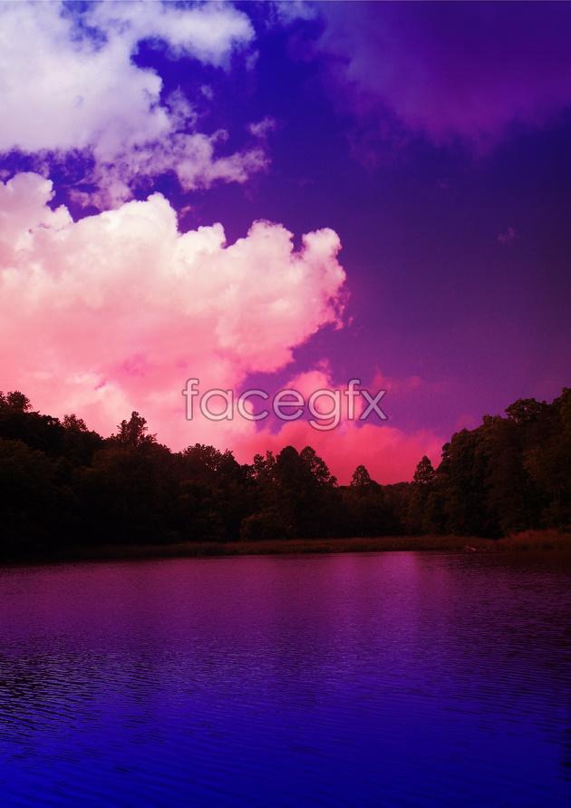 Purple Sky HD picture