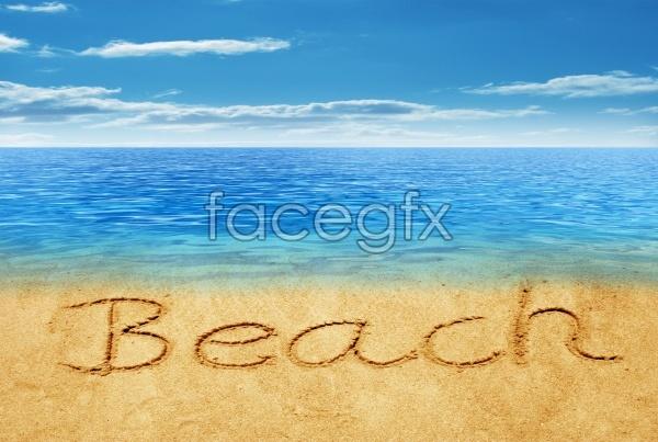 HD Beach landscape pictures