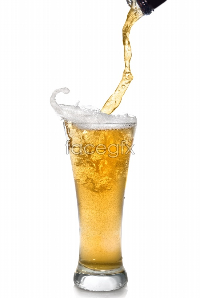 HD beer picture material
