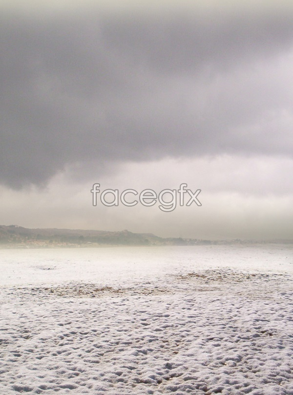 Beach sky scenery picture