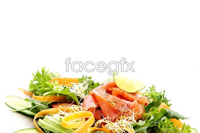 HD gourmet salad HD pictures