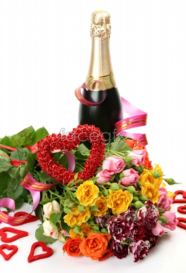 Wine pictures flowers HD