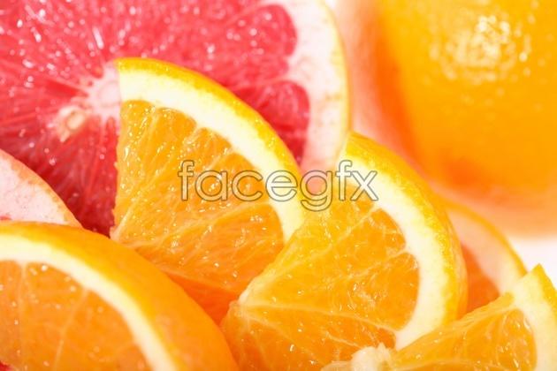 HD Orange slice pictures