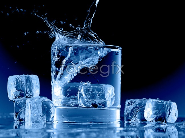 Ice glass pictures