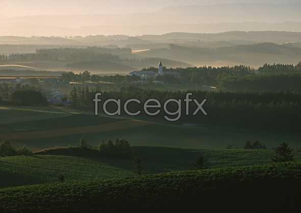 Idyllic country 68