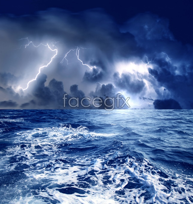 Thunder the sea pictures