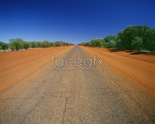 HD scenic highway straight high definition pictures