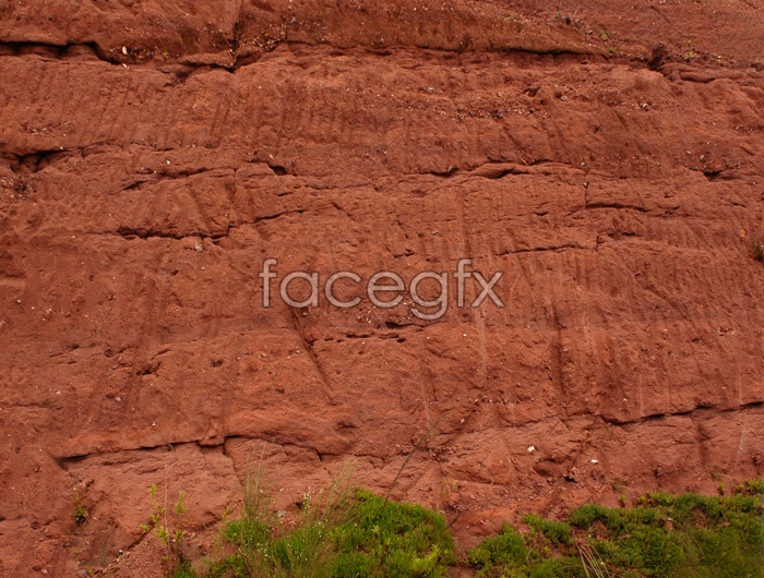 Red soil walls high definition pictures