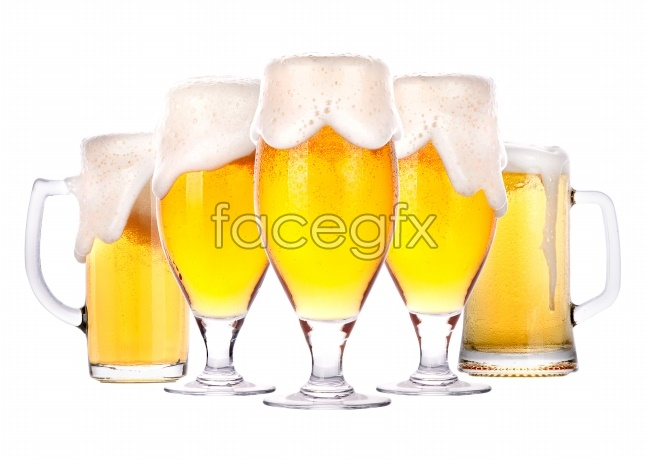 Beer goblets picture