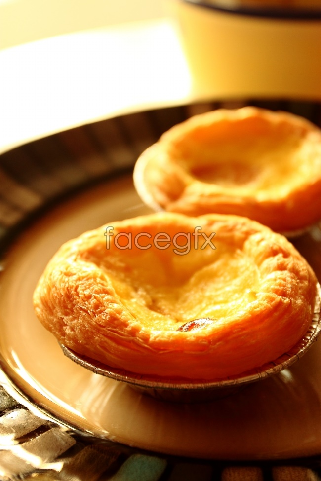 Delicious egg tarts HD pictures