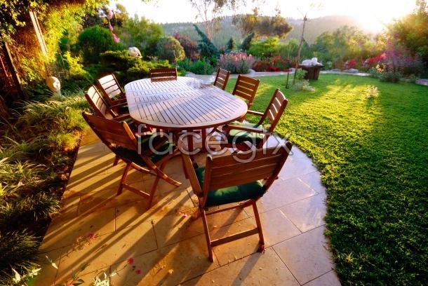 Garden landscape picture, HD