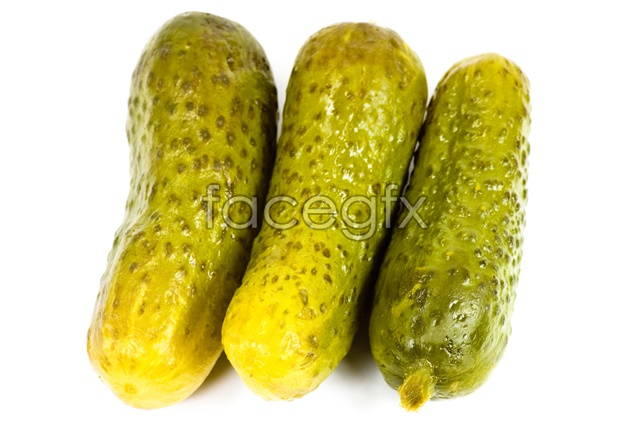 Yellow cucumber HD picture