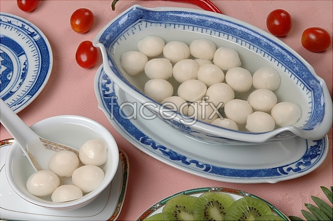 HD pictures of gourmet dumpling