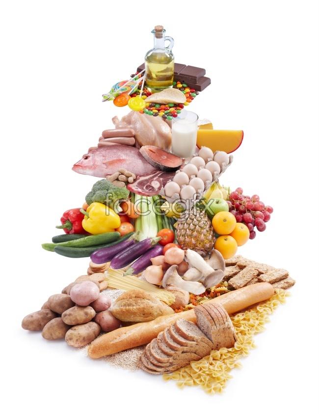 HD delicious food ingredients photos