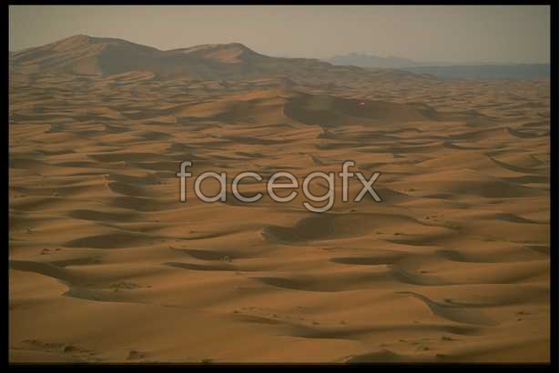 The desert scenery 2