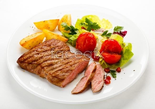 Western beef steak, picture