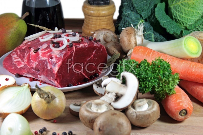 HD bovine meat products pictures