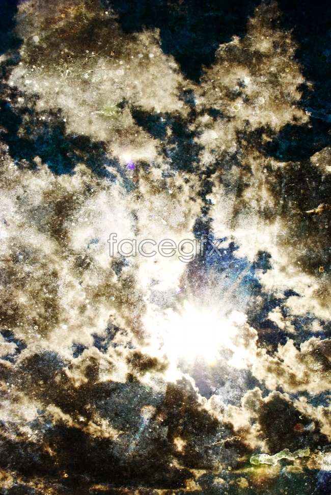 Beautiful clouds in the sky high definition pictures