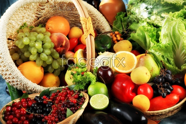 HD vegetable and fruit pictures